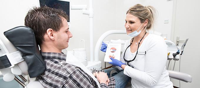 professionelle Zahnreinigung Bergatreute